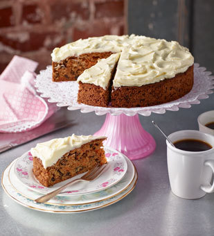 Carrot Cake mit Cream Cheese